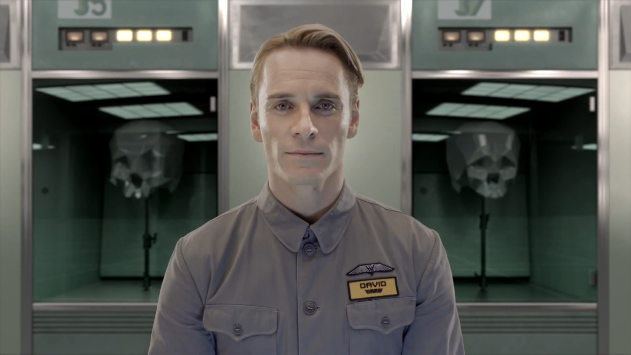 Michael Fassbender's David serves as a mirror for humanity faced with the Engineers. (20th Century Fox)