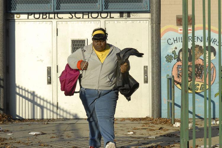 Preciousinfrontofschool