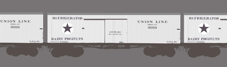 Railcar banner